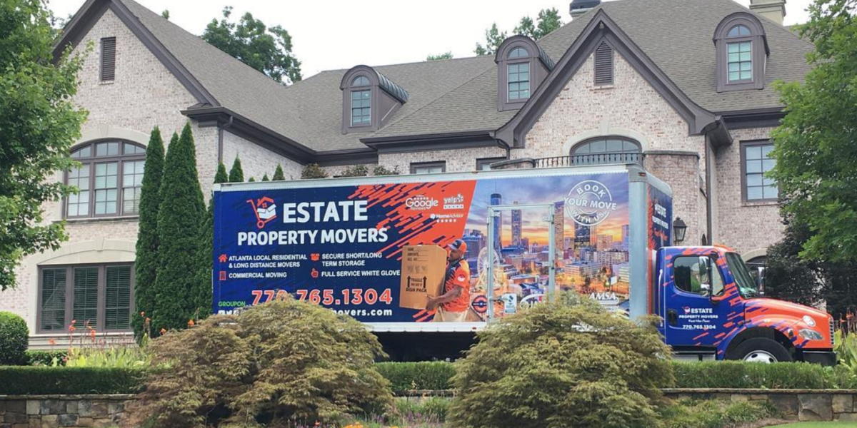 Atlanta Estate White Glove Moving Large House and Moving Truck