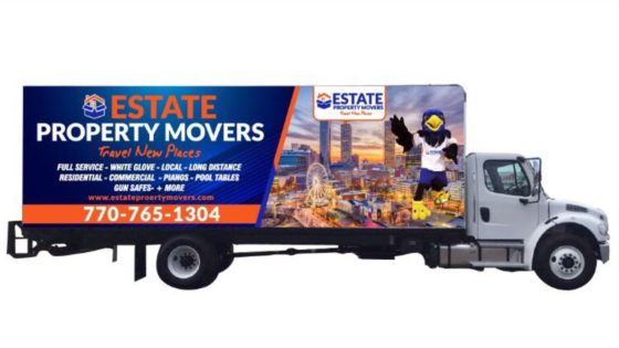 Estate Property Movers Company Moving Truck
